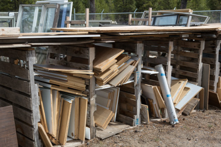Lumber for Sale at the La Pine ReStore