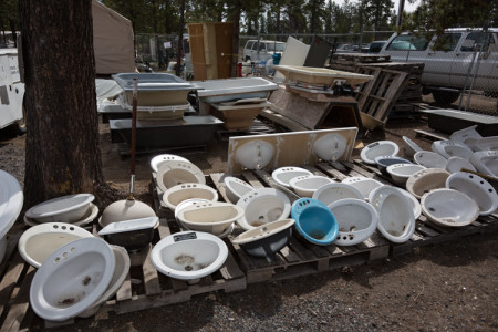 Finish Plumbing Supplies for Sale at the La Pine ReStore