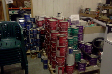 Paint and Painting Supplies on Sale at the La Pine ReStore