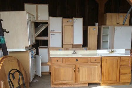 Cabinets for Sale at the La Pine ReStore