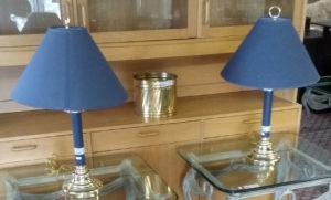 3-25 Blue Lamp Set