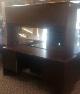 4-8 Desk and Bookshelf